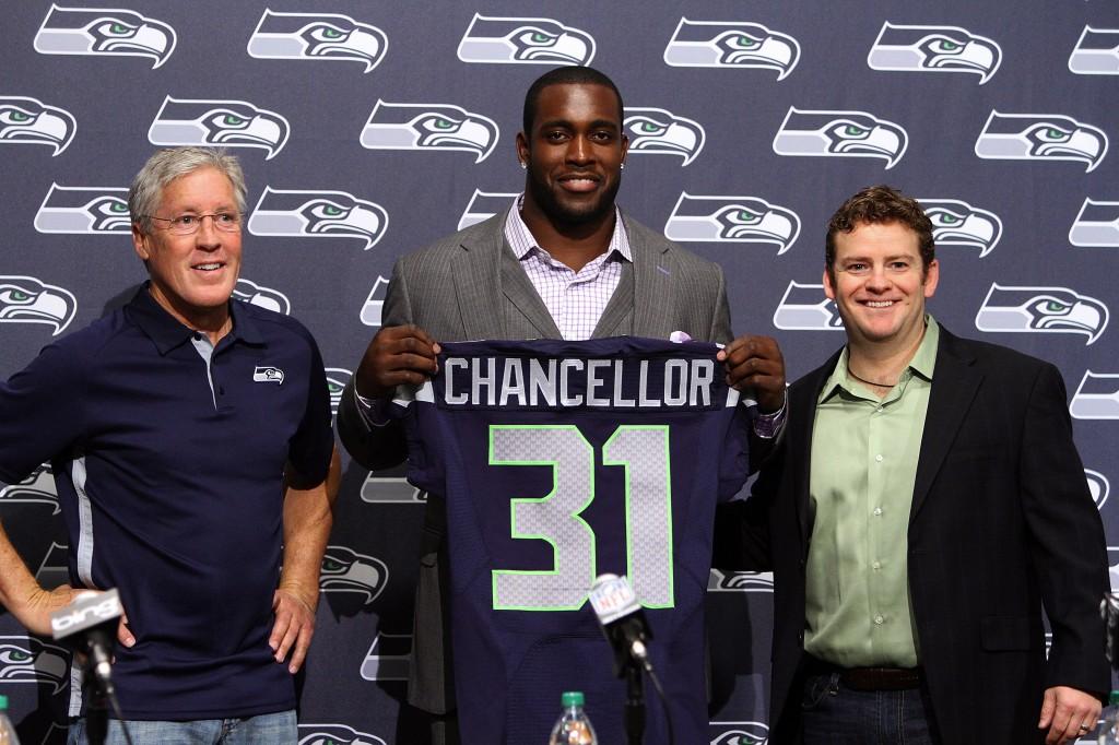 Seahawks Chancellor Football