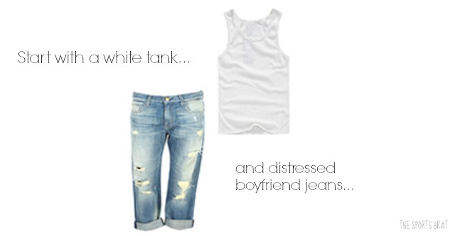 Tank and Jeans