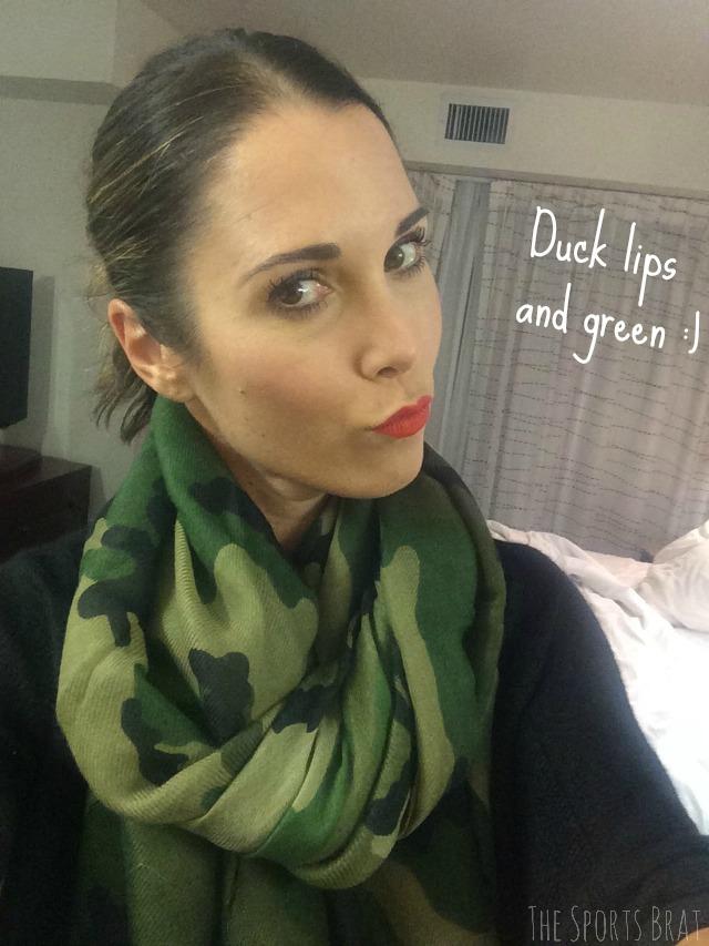 duck lips