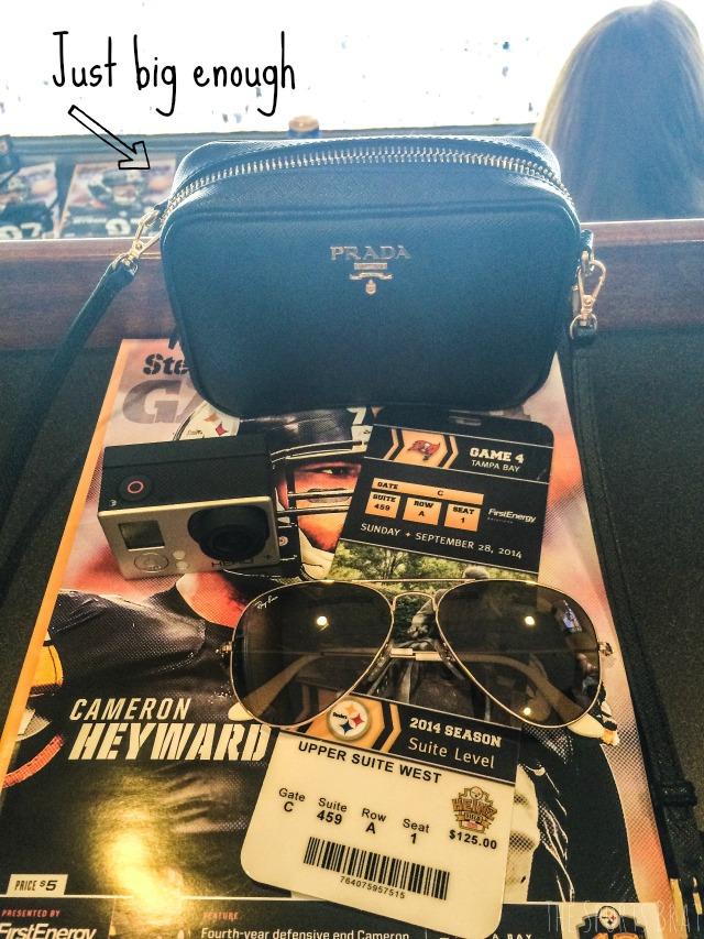 Prada Game Day Bag