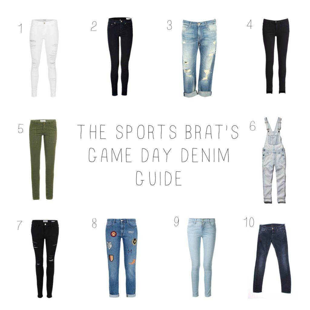 Game Day Denim Guide